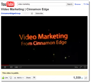 Video Marketing Video on YouTube