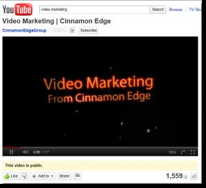 Video Marketing Video on YouTube