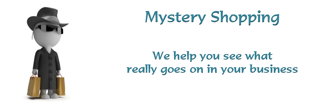 Mystery shopping services from Cinnamon Edge