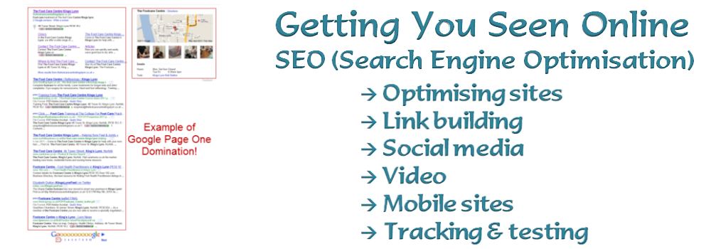 Search Engine Optimisation SEO from Cinnamon Edge