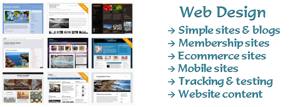 Web design and content services by Cinnamon Edge