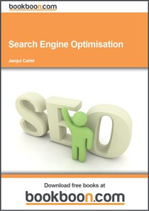 Search Engine Optimisation book cover - click to go to site (opens in new tab/window)
