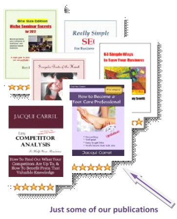Just some of our kindle books